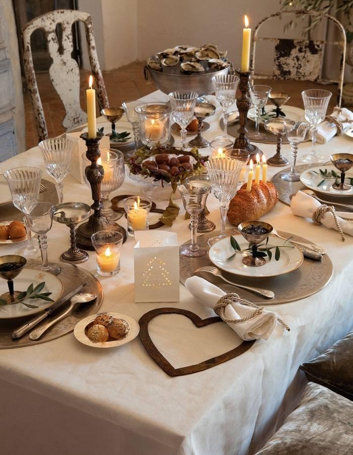 Table De Fete Decoration Noel Noel Decoration