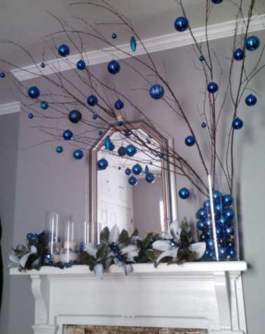 deco noel blanc et bleu noel decoration. Black Bedroom Furniture Sets. Home Design Ideas
