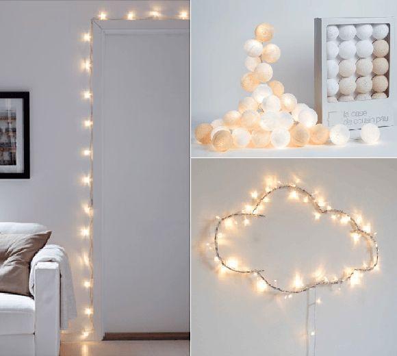 Guirlande lumineuse pour chambre fille - noel decoration