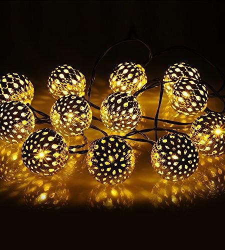 guirlande lumineuse solaire exterieur noel decoration. Black Bedroom Furniture Sets. Home Design Ideas