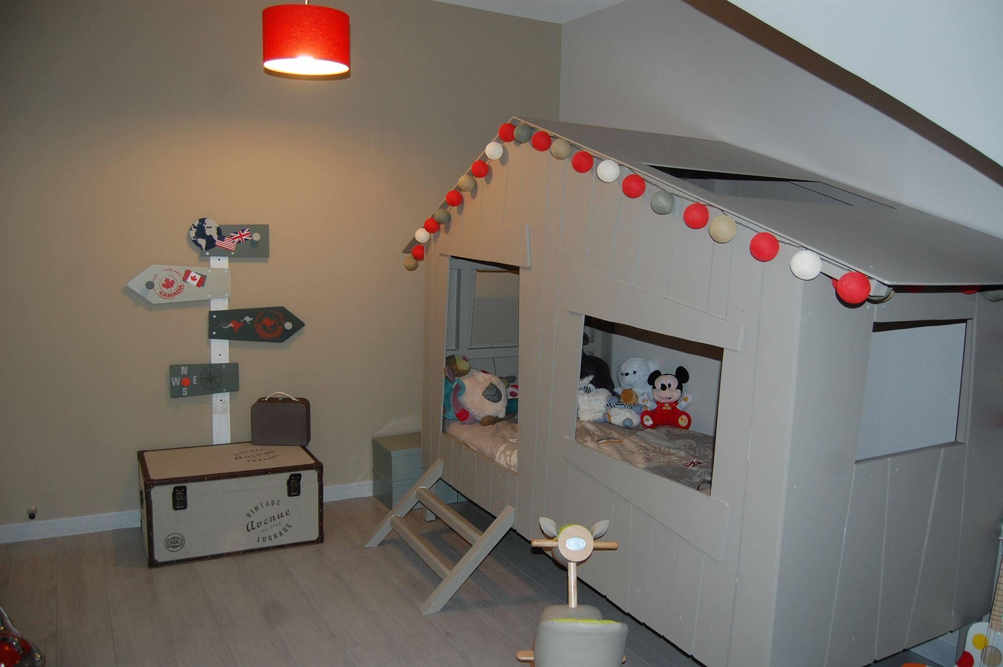 Guirlande lumineuse chambre enfant - noel decoration