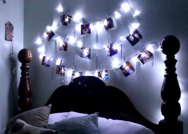 Guirlande lumineuse photo noel decoration - Fabriquer une guirlande de noel lumineuse ...