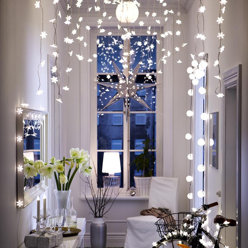 Guirlande lumineuse ikea noel decoration for Guirlande decoration interieur