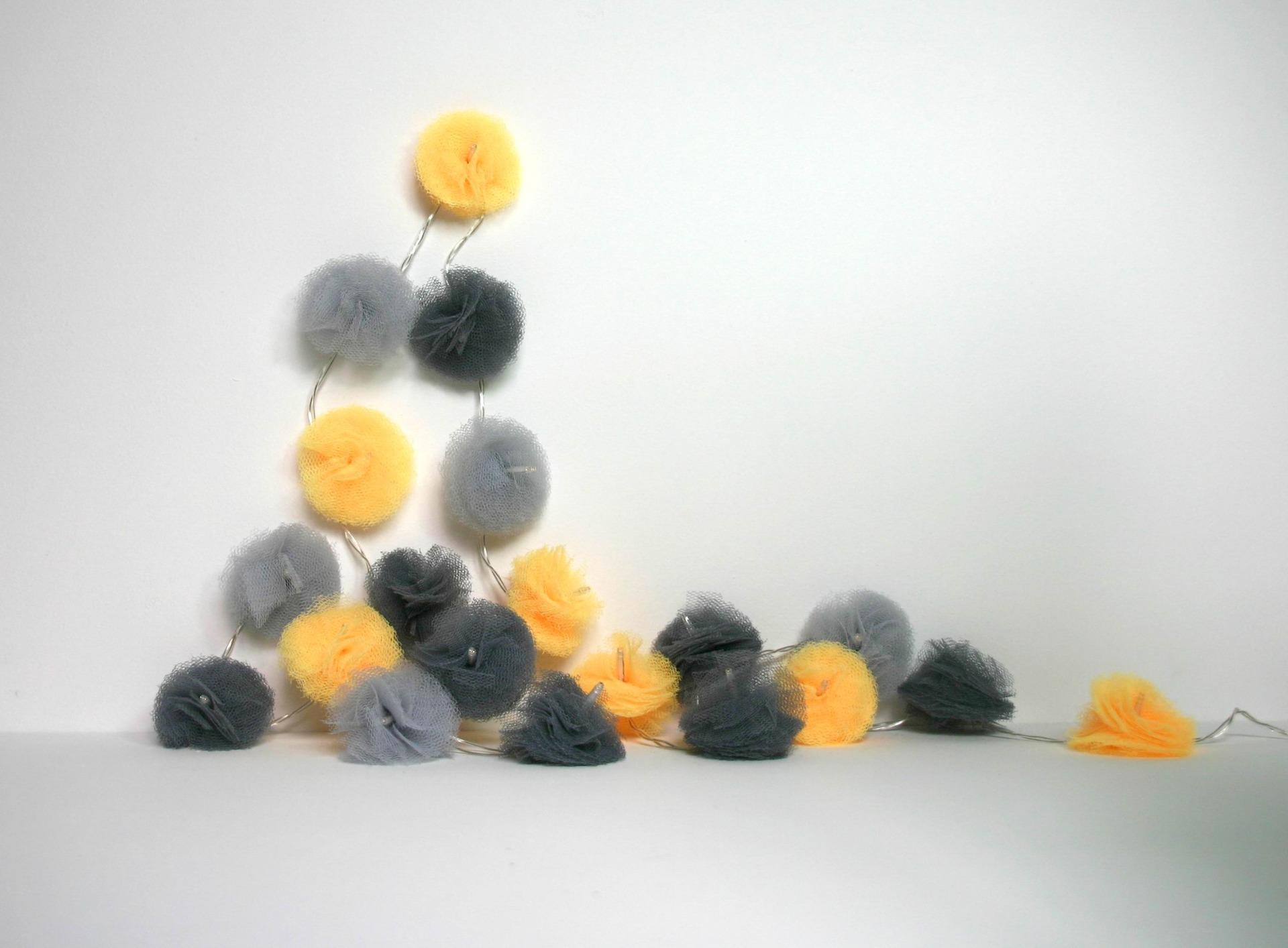 guirlande noel jaune