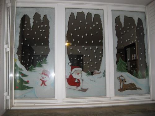 Idee Deco De Fenetre Pour Noel Noel Decoration