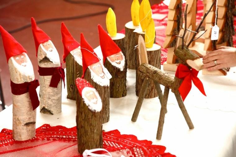 Decoration de noel en bois exterieur