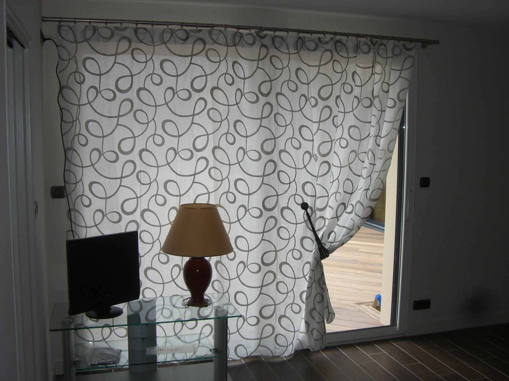 Noel fenetre archives noel decoration - Rideau pour baie vitree ...