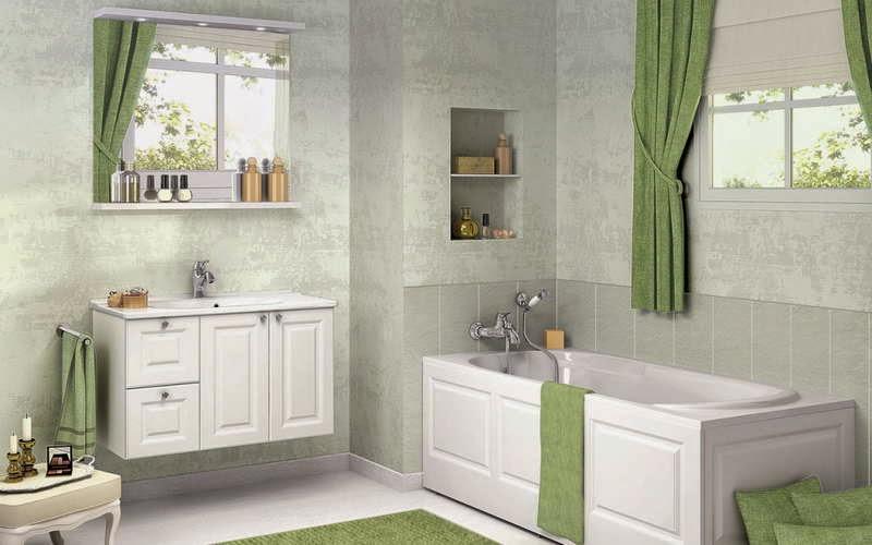 Modele de rideau pour fenetre de salle de bain - noel decoration
