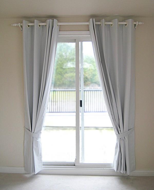 double rideaux pour porte fenetre noel decoration. Black Bedroom Furniture Sets. Home Design Ideas