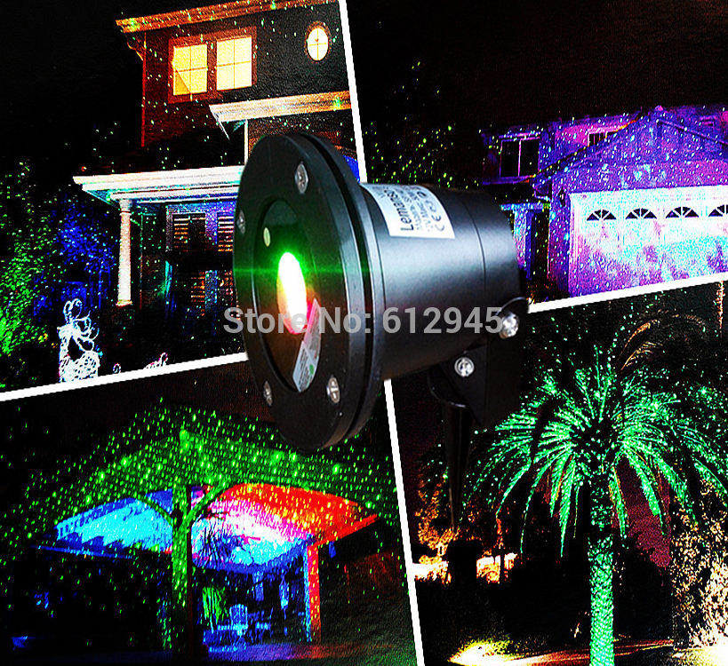 Decoration de noel exterieur projecteur for Lumiere laser exterieur noel