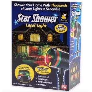 Projecteur laser star shower motion noel decoration for Projecteur shower