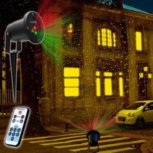 Laser de decoration noel decoration for Laser facade noel
