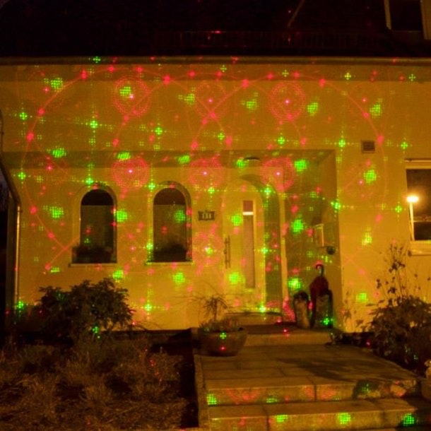 Projecteur laser exterieur gifi noel decoration for Projecteur gifi