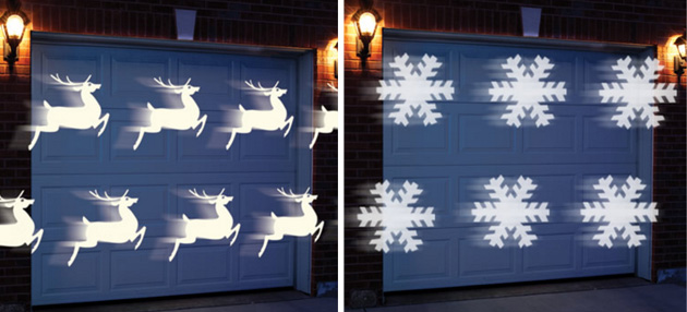 Projecteur lumiere de noel noel decoration for Laser eclairage facade